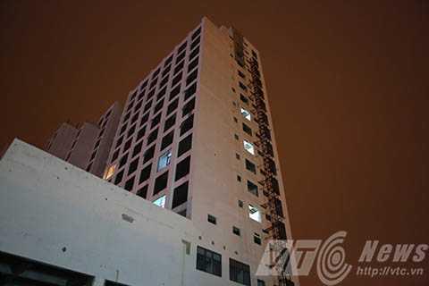 Công trình khách sạn Royal Lotus ở Đà Nẵng, nơi xảy ra vụ tai nạn khiến 6 người chết