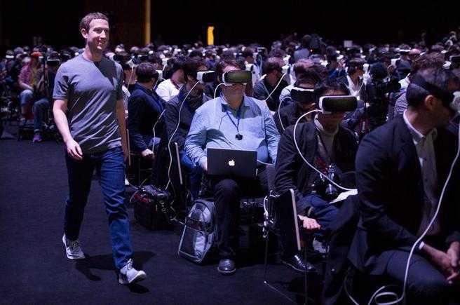 Bức ảnh chụp Mark Zuckerberg tại sự kiện ra mắt Galaxy S7 của Samsung đang khiến cả thế giới hoảng sợ