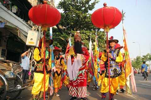 Tết Nguyên tiêu là Lễ hội truyền thống của người Hoa được tổ chức sau Tết Nguyên đán.