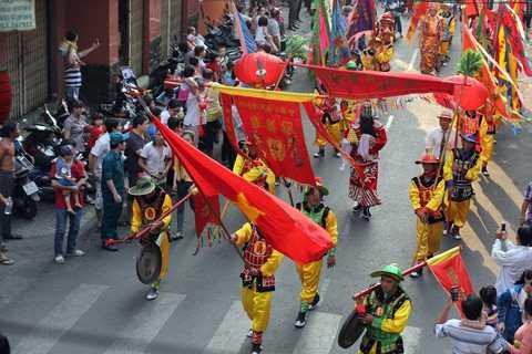 Ngoài những mục đích trên, Lễ hội Tết Nguyên tiêu còn cầu mong cho mọi nhà có cuộc sống ấm no, mưa thuận gió hòa.