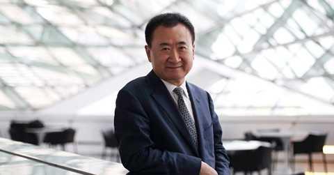Tỷ phú Vương Kiện Lâm - Ảnh: Bloomberg.