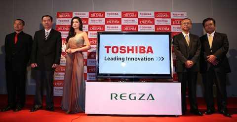 Năm 2010, Toshiba cũng chọn gương mặt đại sứ mới là Tăng Thanh Hà thay thế cho Hồ Ngọc Hà. Ảnh: Tinh tế.