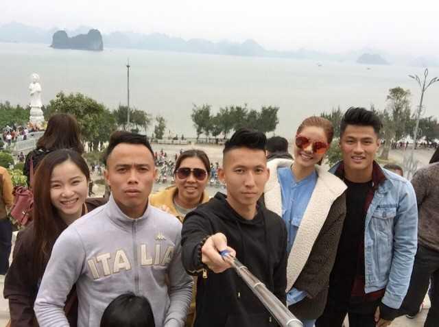 Đôi tình nhân mới của bóng đá-showbiz Việt