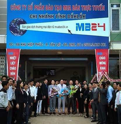 Ảnh khai trương chi nhánh của MB24 tại tỉnh Đắk Lắk