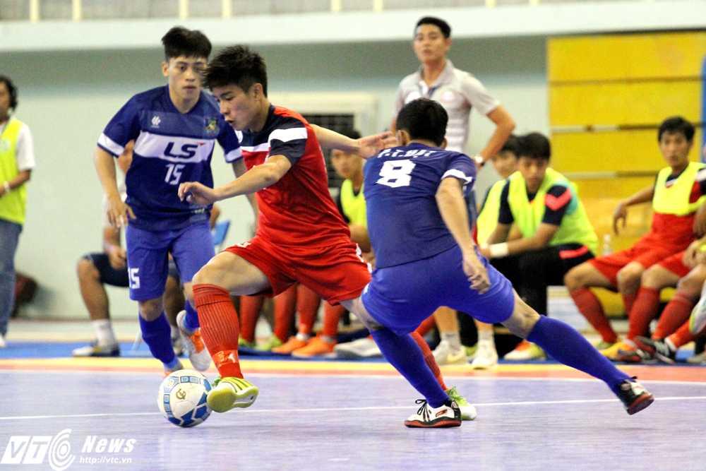 Futsal Việt Nam sẽ được hưởng lợi nhiều từ tấm vé dự World Cup 2016  (Ảnh: Hoàng Tùng)