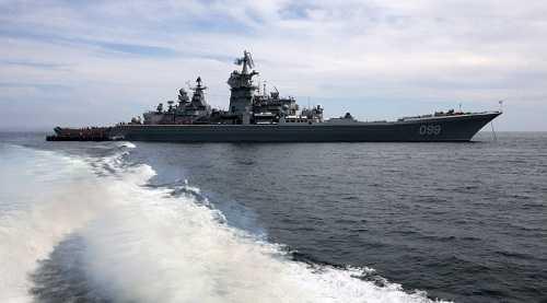 Chiến hạm Pyotr Veliky của Nga sẽ trang bị tên lửa siêu âm Zircon