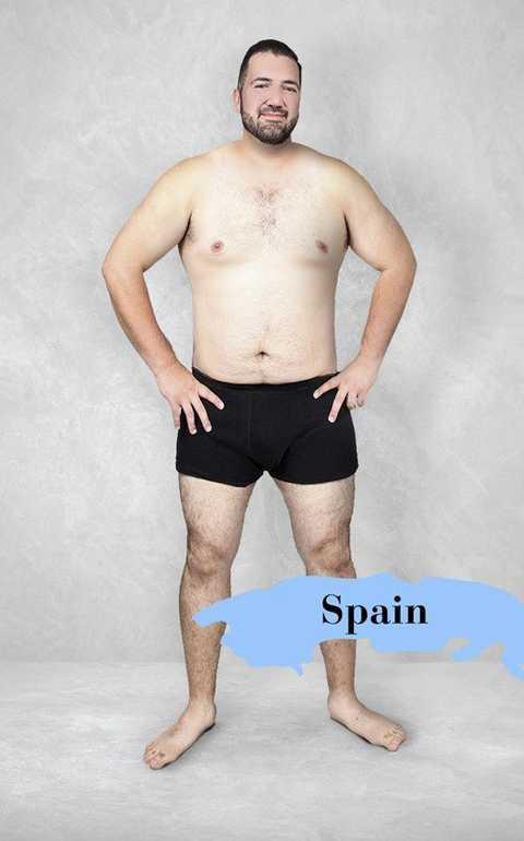 Chuẩn mực Tây Ban Nha - Ảnh: onlinedoctor.superdrug.com