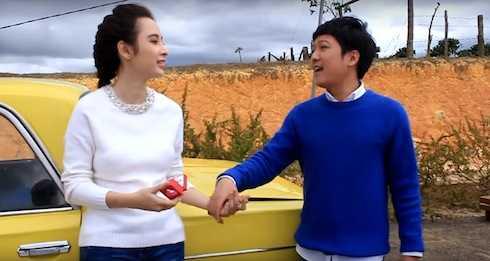 Trường Giang - Angela Phương Trinh có nhiều cảnh tình tứ trong 'Taxi, em tên gì?'