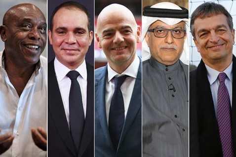 5 ứng viên cuối cùng cho chiếc ghế Chủ tịch FIFA