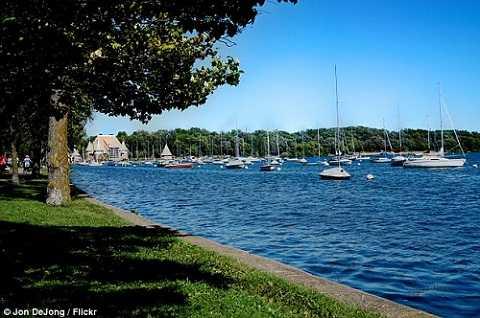 Hồ Harriet tại Minneapolis, Mỹ