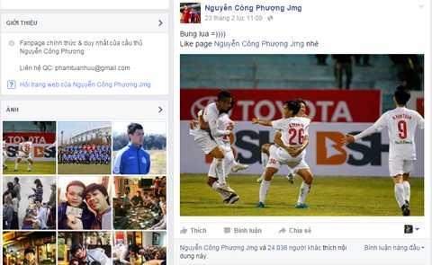 Công Phượng nói về chiến thắng của HAGL ở vòng 1 V-League 2016