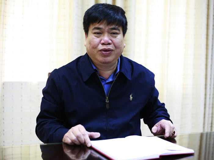 Ông Vũ Quang Khôi - Cục trưởng Cục Đường sắt Việt Nam.