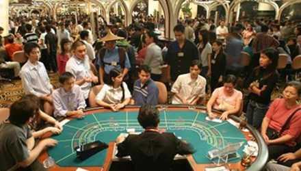 Hơn 700 người Việt sang Campuchia đánh bạc mỗi ngày (ảnh minh họa)