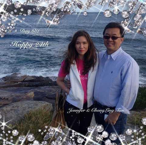 Bà Yen Li Chong và chồng
