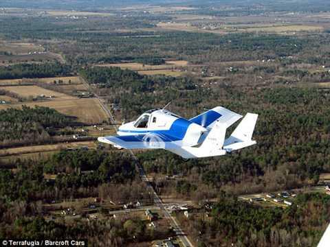 Transition là bước đầu tiên để Terrafugia tiến gần đến giấc mơ xe hơi bay hoàn hảo - Ảnh: Terrafugia