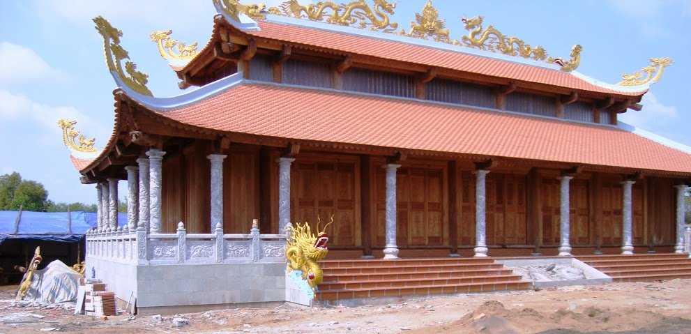 Các hạng mục bên trong nhà thờ của NS Hoài Linh. Phần lớn đã được xây dựng xong, chuẩn bị nghiệm thu công trình.