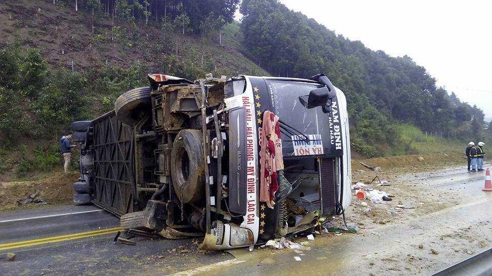 Hiện trường tai nạn: Nguồn ảnh: otofun
