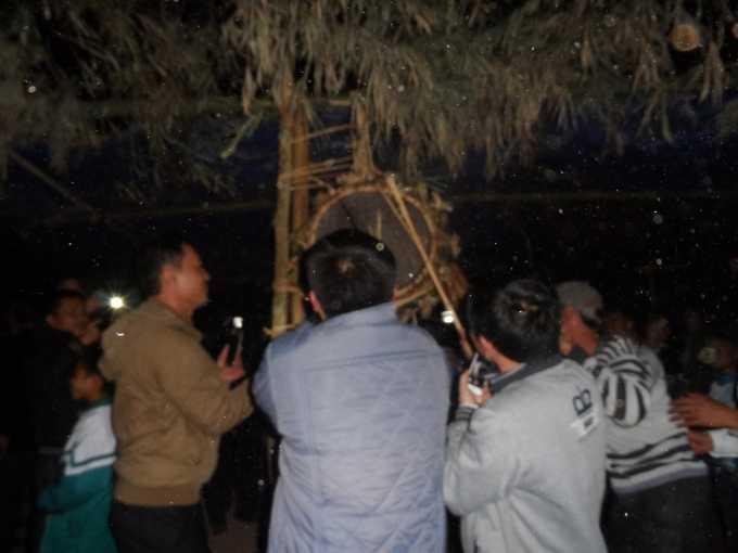 Lễ hội đập trống của người Ma Coong.