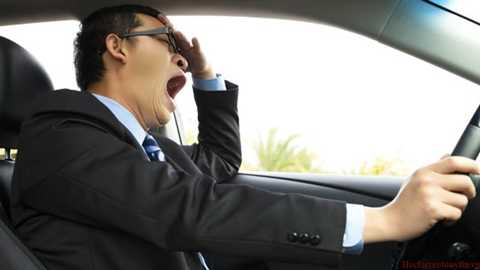 97% người lái xe thừa nhận có lúc ngủ gật hoặc không tỉnh táo khi lái xe