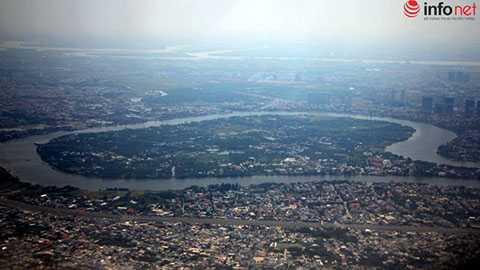 Sông Sài Gòn và bán đảo Thanh Đa.