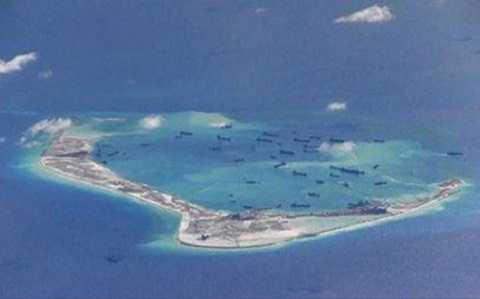 Thời gian qua, Trung Quốc đã tăng cường quân sự hóa ở Biển Đông. (Ảnh: RT)