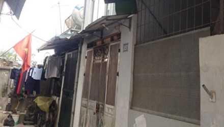 Hiện trường vụ giết người xảy ra tại quận Long Biên.