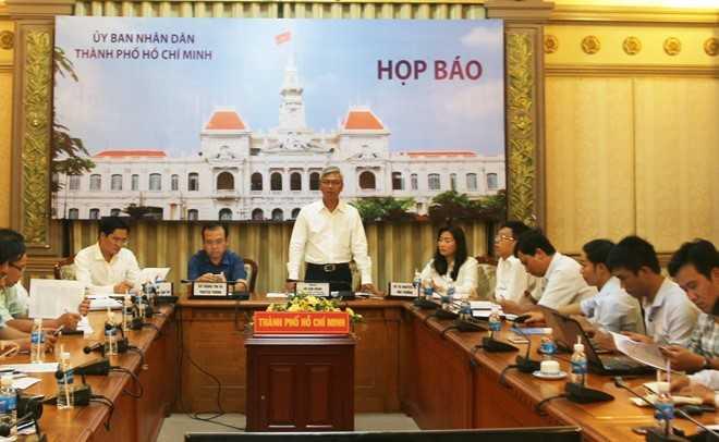 UBND TP HCM sẽ tiếp nhận đường dây nóng của Bí thư Thành ủy Đinh La Thăng. Ảnh: Zing
