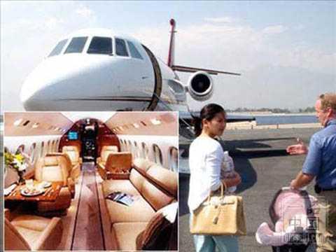 mua tặng vợ là người đẹp Hoa ngữ Lưu Đào chiếc máy bay riêng