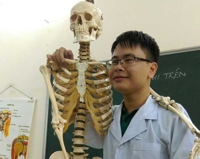 Ngô Vương Minh chia sẻ bí quyết học online hiệu quả.