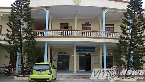Trụ sở Đảng ủy, UBND phường Đằng Lâm (Hải An), nơi ông Đặng Đình Thường công tác - Ảnh MK