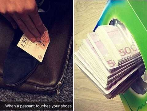 Những tờ 50 bảng chỉ đáng để lau giày hoặc nhét hộp giấy
