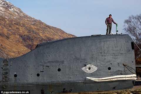 Ông Tom McClean sẽ cùng Moby chinh phục Đại Tây Dương