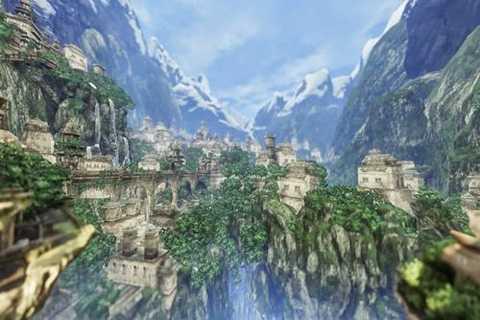 Thị trấn Gyanganj nằm trên dãy Himalayas được coi một thị trấn bất tử.