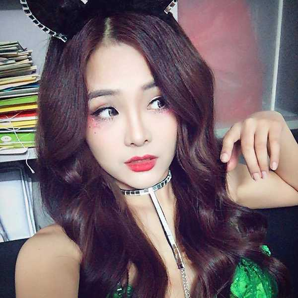 Hot girl Thu Hà mơ ước trở thành nữ doanh nhân thành đạt và một siêu mẫu chuyên nghiệp.