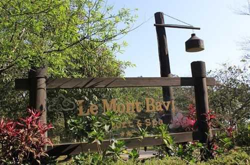 Công trình mang tên Le Mont Bavi Resort&Spa do Công ty TNHH Phát triển công nghệ (CFTD) làm chủ đầu tư.