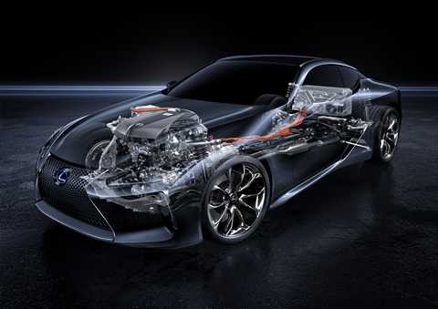 Động cơ Hybrid Multi Stage làm tiền đề cho cấu trúc dẫn động sau của Lexus