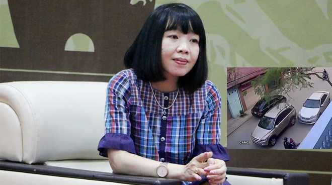 Chị Điệp cảm thấy đau đớn, xót xa khi xem những hình ảnh về vụ tai nạn tham khốc xảy ra tại phố Ái Mộ, quận Long Biên, Hà Nội vào sáng 29/2