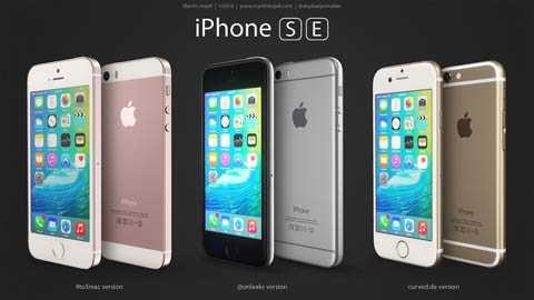 Dựa trên các tin đồn xuất hiện   thời gian qua, nhà thiết kế Martin Hajek đã vẽ lại chân dung chiếc   iPhone SE được cho là sắp ra mắt.