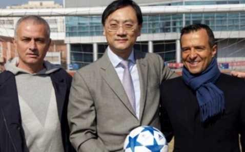 Zhang Dazhong cùng Mourinho và siêu cò Jorge Mendes