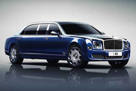 Thay vì được sản xuất trên cùng một dây   chuyền với những chiếc Mulsanne bình thường, phiên bản xe siêu sang   Bentley Mulsanne Grand Limousine mới do bộ phận đặc biệt Mulliner của   hãng chế tạo.
