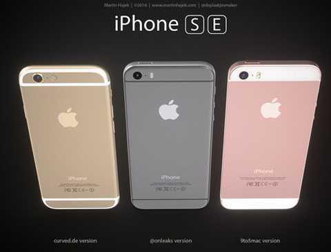 Những concept của iPhone SE sắp ra mắt.