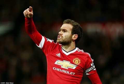 Juan Mata giúp MU có 3 điểm