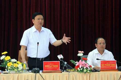 Bí thư Thành ủy TP.HCM Đinh La Thăng - Ảnh: H.Đ