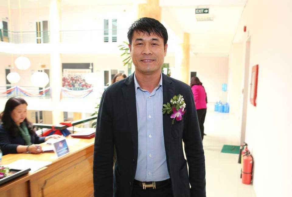 HLV Hữu Thắng là một trong những cầu thủ thuộc thế hệ vàng của bóng đá Việt Nam (Ảnh: Quang Minh)