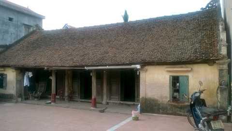 Ngôi nhà cổ cụ Phương sống vẫn được các con bảo tồn nguyên vẹn