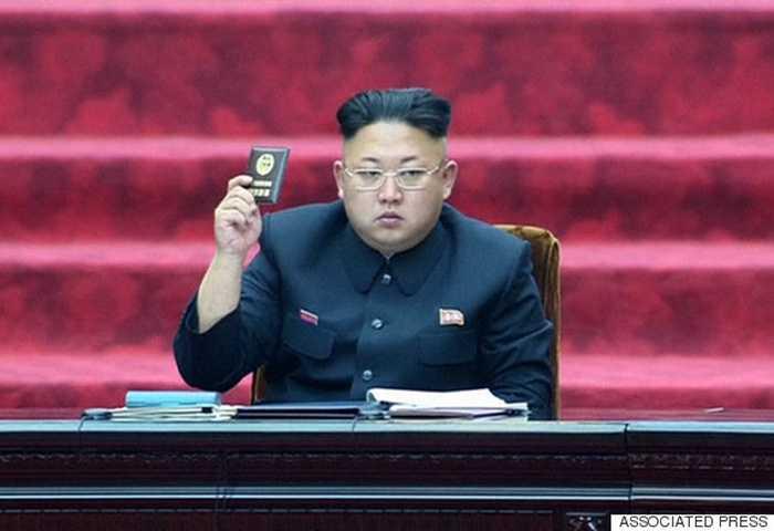 Chủ tịch Triều Tiên Kim Jong-un