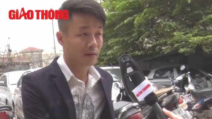 PV Truyền hình Giao thông đã có cuộc trao đổi với Anh Trần Đình Quý về màn trình diễn ảo thuật bịt mặt lái xe mui trần gây xôn xao Hà Nội.