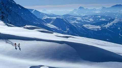 Đến thiên đường trượt tuyết ở Verbier chỉ mất vài giờ. Ảnh: BBC