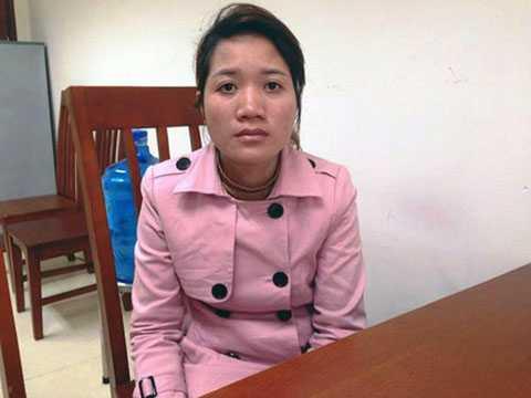 CAQ Hai Bà Trưng đã ra quyết định khởi tố bị can Nguyễn Thị Nụ và lệnh cấm đi khỏi nơi cư trú (do đang nuôi con nhỏ dưới 36 tháng tuổi)