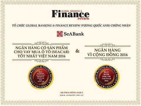 SeABank vinh dự được GBAF trao tặng các giải thưởng ghi nhận những nỗ lực nâng cao chất lượng sản phẩm dịch vụ và đóng góp cho xã hội